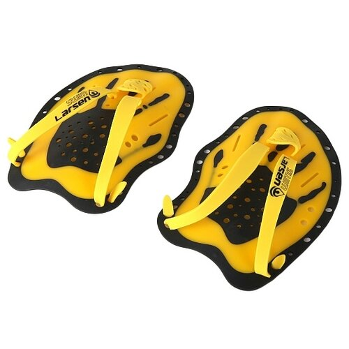 Лопатки для плавания Larsen HF6940, желтый