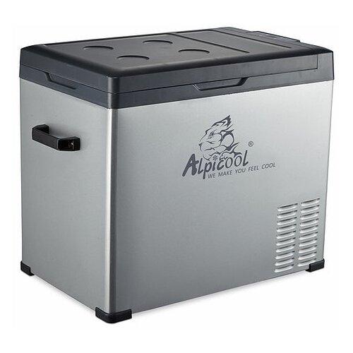 Автомобильный холодильник Alpicool C50 серый