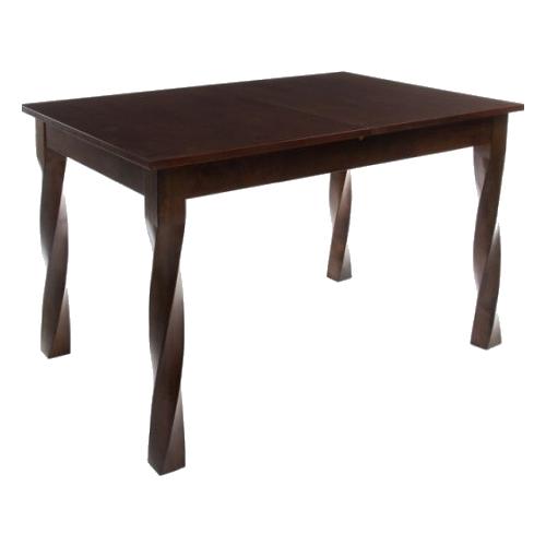 стол раскладной kingcamp bamboo table s kc3935 серый металлик 60 х 45 х 59 см Стол кухонный Woodville Krono, раскладной, ДхШ: 120 х 80 см, длина в разложенном виде: 150 см, cappuccino
