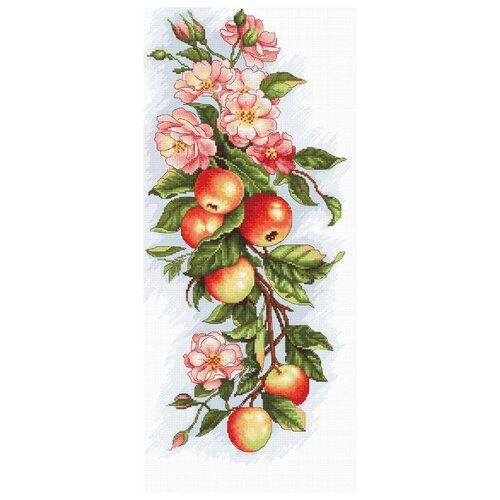 Luca-S Набор для вышивания Композиция с яблоками 17 х 38 см (B211) anchor набор для вышивания композиция с анемонами 18 х 47 см pce733