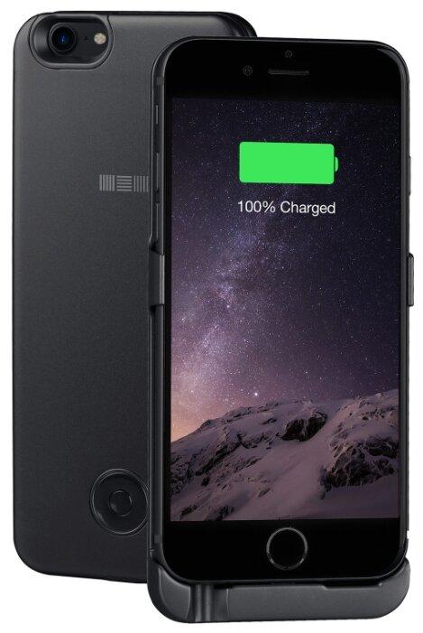 Чехол-аккумулятор INTERSTEP Metal battery case для iPhone 6/7/8 space gray