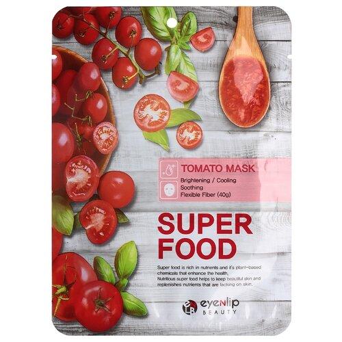Eyenlip Super Food тканевая маска с экстрактом томатов, 23 мл