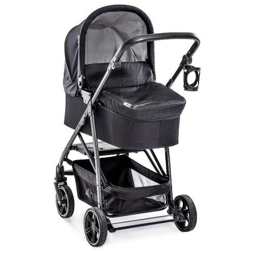 Универсальная коляска Hauck Rapid 4S Plus Trioset (3 в 1) caviar/silver hauck коляска трость speed plus s forest fun