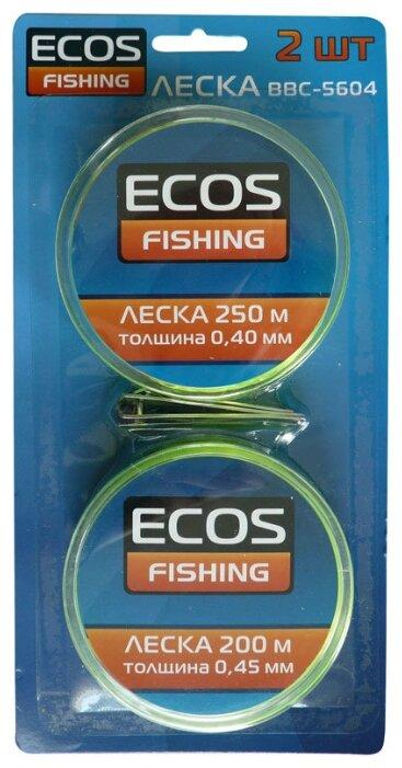Набор монофильная леска ECOS BBC-5604 (0.40 мм, 250 м / 0.45 мм, 200 м)