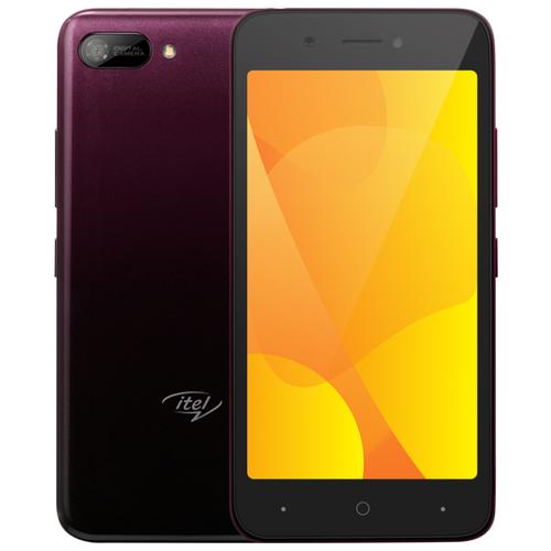 Смартфон Itel A25 фиолетовый смартфон itel a45 midnight black