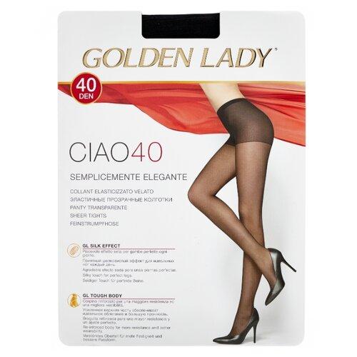 Колготки Golden Lady Ciao 40 den, размер 3-M, nero (черный) колготки golden lady ciao 20 den размер 3 m nero черный