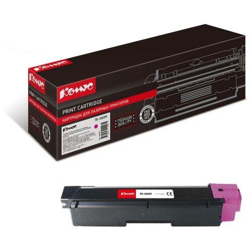 Фото - Картридж лазерный Комус TK-580M для Kyocera FS-C5150DN картридж лазерный комус tk 580k черный для kyocera fs c5150dn