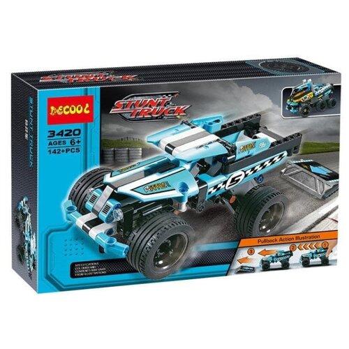 Купить Конструктор Jisi bricks (Decool) Technic 3420 Трюковой грузовик, Конструкторы