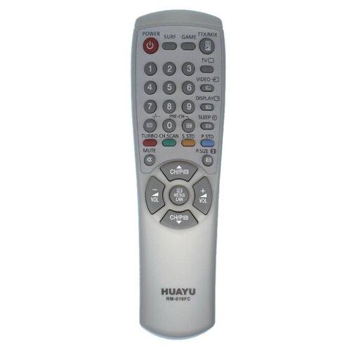 Фото - Пульт ДУ Huayu RM-016FC для телевизоров Samsung серый пульт ду huayu rm 836c для для телевизоров philips rc1205b 30063555 rc0770 rc19036002 rc19036001 rc19042001 серый