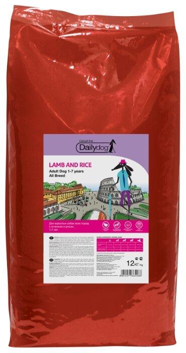 Корм для собак Dailydog (12 кг) Adult Lamb and Rice