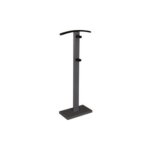 Напольная вешалка Мебелик Галант 359 серый графит/венге