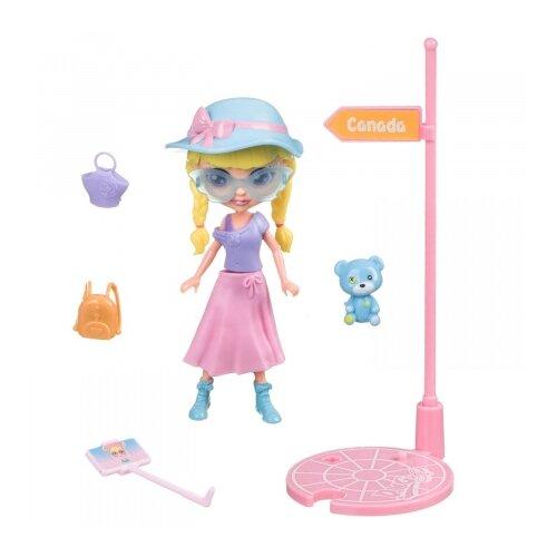 Купить Игровой набор Bondibon куколка OLY путешественница, 11.5 см, BB4313, Куклы и пупсы