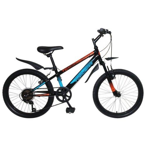 Подростковый горный (MTB) велосипед Top Gear Fighter (ВН20203) черный (требует финальной сборки)Велосипеды<br>