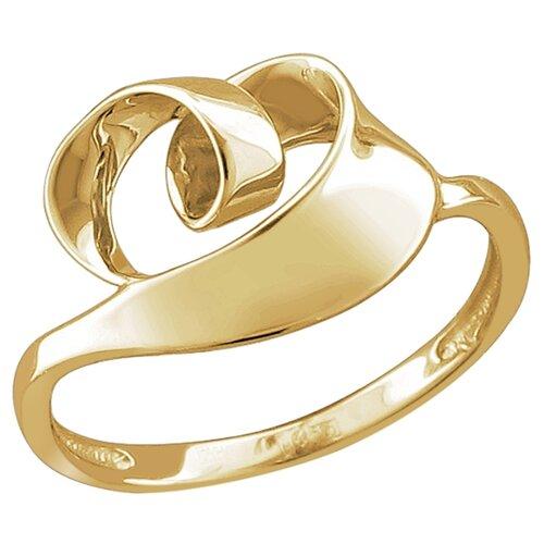 Эстет Кольцо из жёлтого золота 01К0313155, размер 17 фото