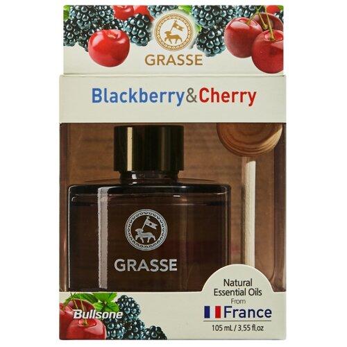 Bullsone Ароматизатор для автомобиля Grasse Diffuser Black Berry & Cherry 105 мл