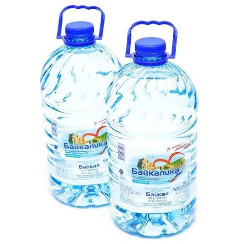 Вода питьевая Байкалика негазированная, ПЭТ, 2 шт. по 5 л истэль вода талая негазированная 12 шт по 0 5 л