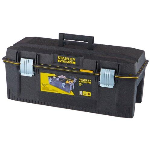 Ящик STANLEY FatMax 1-93-935 71.3x29.4x32.3 см 28'' черный ящик тележка stanley 1 94 210 fatmax mobile work station cantilever 52x38x73 см черный