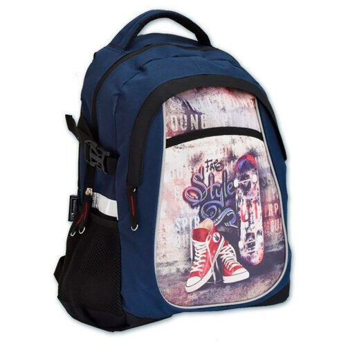 Феникс+ Рюкзак (46207), синий феникс рюкзак школьный феникс 1 отд 4 кармана синий звезды