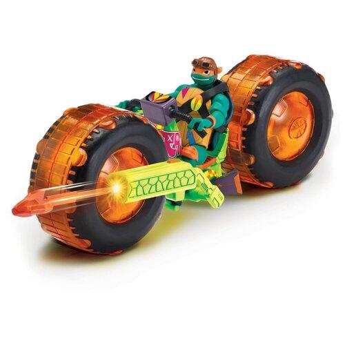 Купить Фигурка Playmates TOYS ROTMNT Мотоцикл с фигуркой Майки 82483, Игровые наборы и фигурки