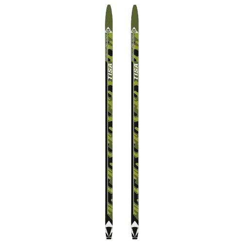 Беговые лыжи Tisa Adventure Step зеленый/черный 185 см беговые лыжи stc sable innovation step черный желтый красный 185 см