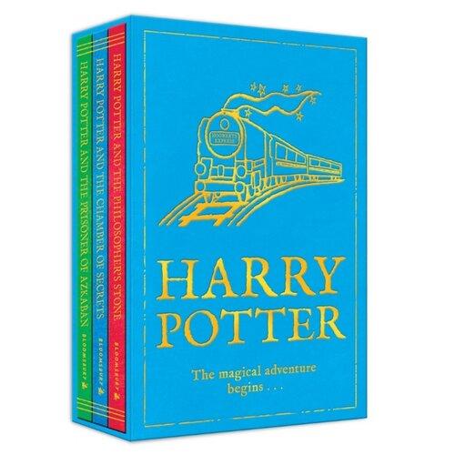 Купить Роулинг Дж.К. Harry Potter: The Magical Adventure Begins. Volumes 1-3 , Bloomsbury Publishing, Детская художественная литература