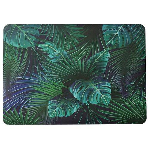 Чехол-накладка i-Blason MacBook Air 13 2018 A1932 Palm Leaves темно-зеленыйСумки и рюкзаки<br>
