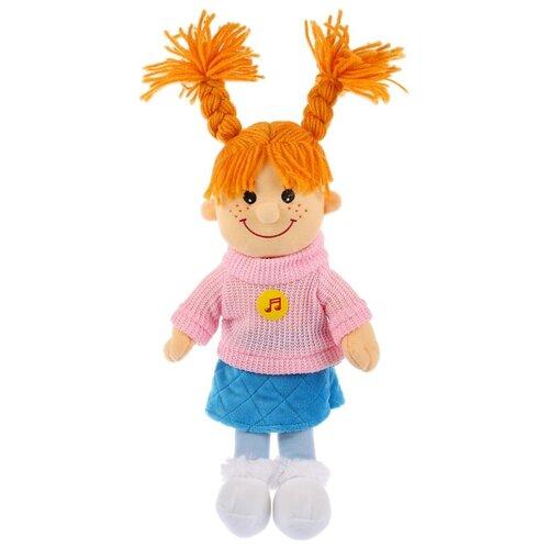 Купить Мягкая игрушка Мульти-Пульти Куколка с косичками озвученная 35 см, Мягкие игрушки