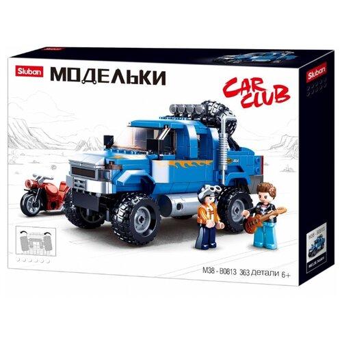Купить Конструктор SLUBAN Модельки M38-B0813 Внедорожник, Конструкторы