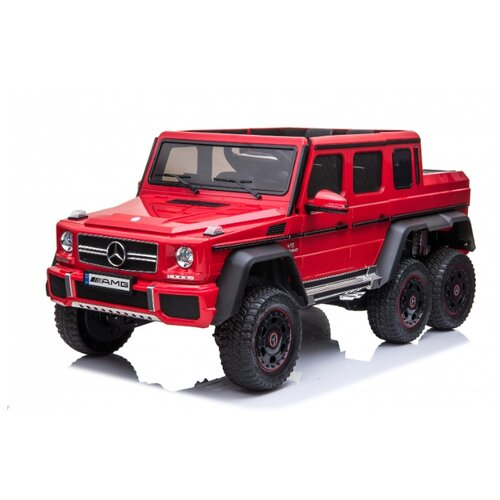 Купить RiverToys Автомобиль Mercedes-Benz G63 AMG 4WD P777PP, красный, Электромобили