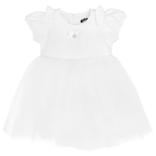 Купить Платье Gulliver Baby размер 92, белый, Платья и юбки