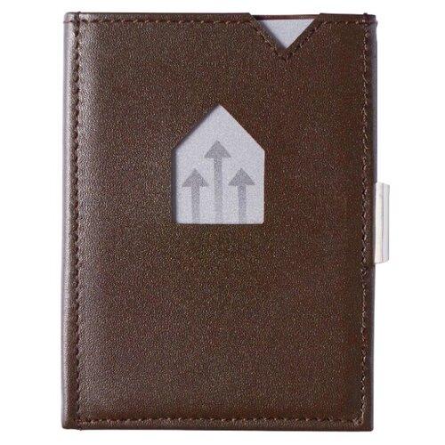Бумажник Exentri Wallet EX 002, натуральная кожа brown