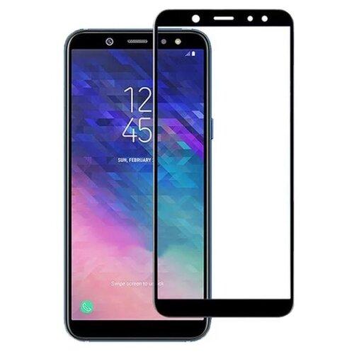 Защитное стекло TFN 2.5D для Samsung Galaxy A6 Plus 2018 черный