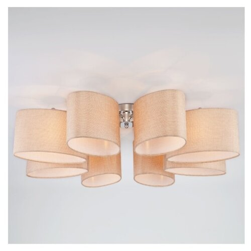 Люстра Eurosvet Elipse 60083/8 хром, E14, 320 Вт потолочный светильник евросвет elipse 60083 8 хром