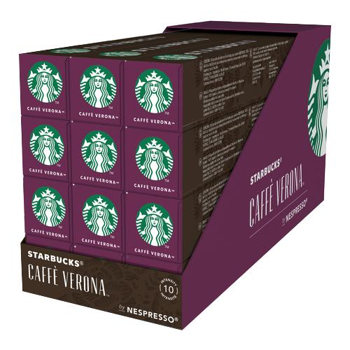 Кофе в капсулах Starbucks Сaffe Verona (120 капс.) кейс starbucks queen white