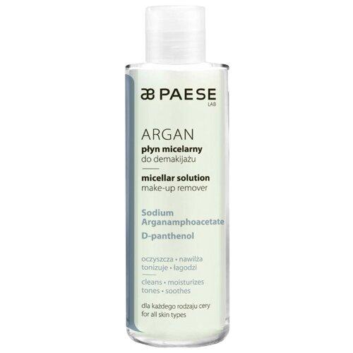 PAESE мицеллярный раствор для снятия макияжа Argan micellar solution, 210 мл