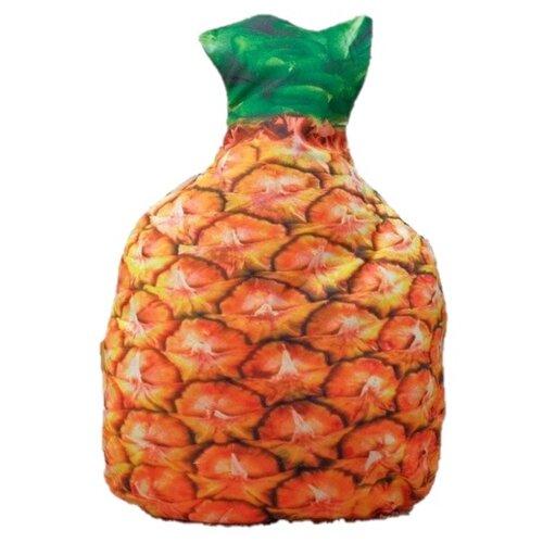 Подушка декоративная Этель Ананас (4072812), 35 х 51 см оранжевый/зеленый настольный декор ананас зеленый 12 х 12 х 22 см