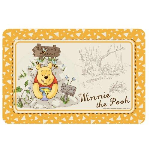 Фото - Триол Disney Коврик под миску Winnie-the-Pooh 43*28см игрушка для собак triol disney winnie the pooh тигруля полиэстер 35 см 1 шт
