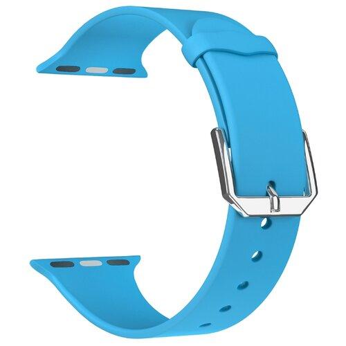Фото - Lyambda Силиконовый ремешок Alcor для Apple Watch 42/44 mm blue lyambda силиконовый ремешок alcor для apple watch 42 44 mm green