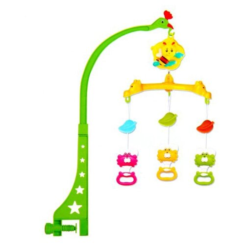Механический мобиль Shantou Gepai Крабики (2219) зеленый/желтый мяч shantou gepai арифметика зеленый желтый