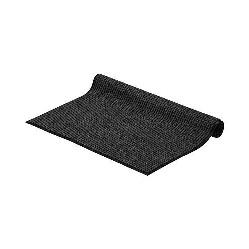 Придверный коврик VORTEX Влаговпитывающая ребристая, размер: 1.2х0.9 м, серый