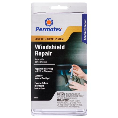 Клей для ремонта автомобиля Набор для ремонта автомобиля PERMATEX 09103 бесцветный