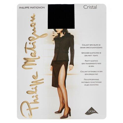 Колготки Philippe Matignon Cristal 30 den, размер 4-L, nero (черный) колготки philippe matignon nudite crystal 30 den размер 4 l nero черный