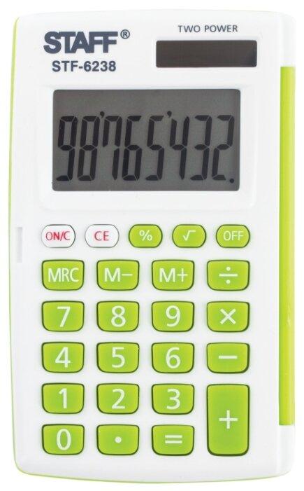 Калькулятор карманный STAFF STF-6238