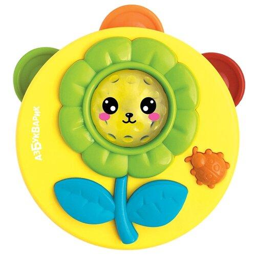 Купить Азбукварик бубен 2184 желтый, Детские музыкальные инструменты
