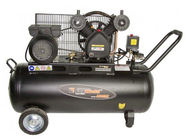 Компрессор масляный FoxWeld Aeromax 5073 380/100, 100 л, 2.2 кВт