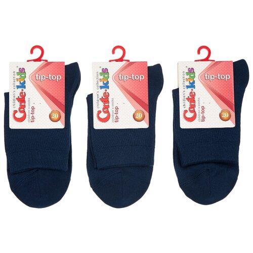 Купить Носки Conte-kids комплект 3 пары размер 20, темно-синий