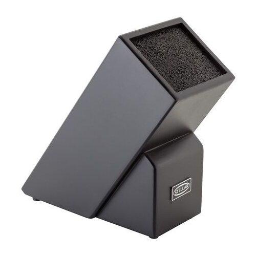 Stellar Подставка для ножей черный