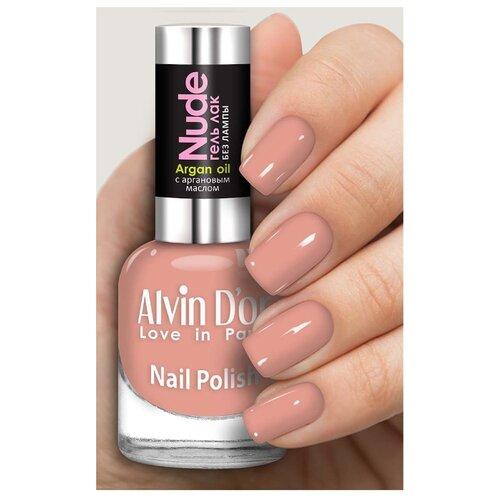 Лак Alvin D'or Nude, 15 мл, оттенок 4218 лак kinetics nude different 15 мл оттенок 395