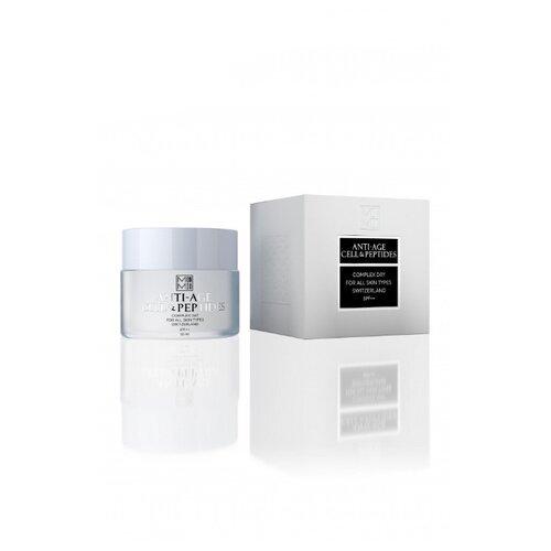 MonMio Крем для лица дневной лифтинг с фактором SPF15 с экстрактом растений и голубой водоросли для всех типов кожи