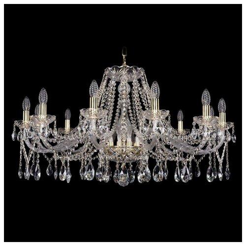 Фото - Люстра Bohemia Ivele Crystal 1413 1413/12/360/G, E14, 480 Вт люстра bohemia ivele crystal 7201 72301 12 360 b g e14